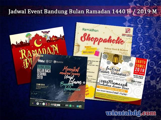 Jadwal Event Bandung Bulan Ramadan - Mei 2019