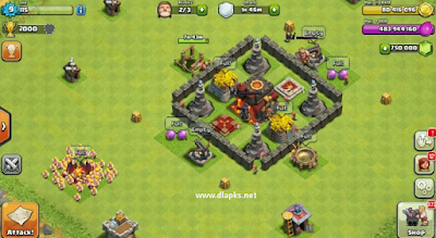 Clash of Clans mod apk offline no root free download