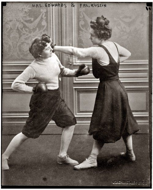 Wordless Wednesday: Women working out in the 1800s