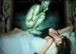 the evil spirit of masturbation