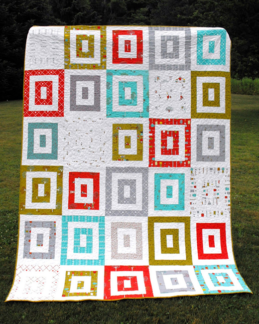 Apple Crate Quilt Free Tutorial designed by Angela Mitchell of Fussy Cut for Moda bake shop