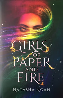 Girls of Paper and Fire by Natasha Ngan cover fairyloot