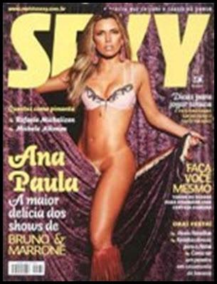 Ana Paula Felix nua na Sexy 2007