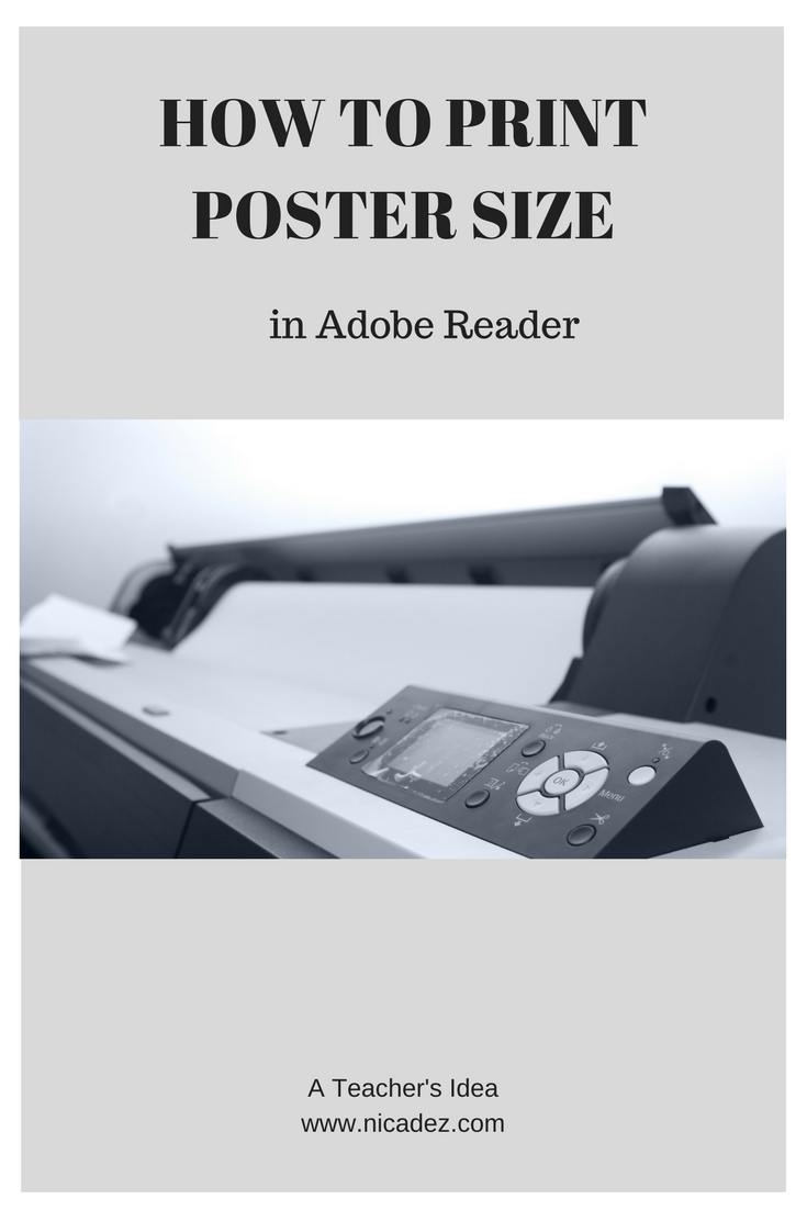 Printing posters, nicadez