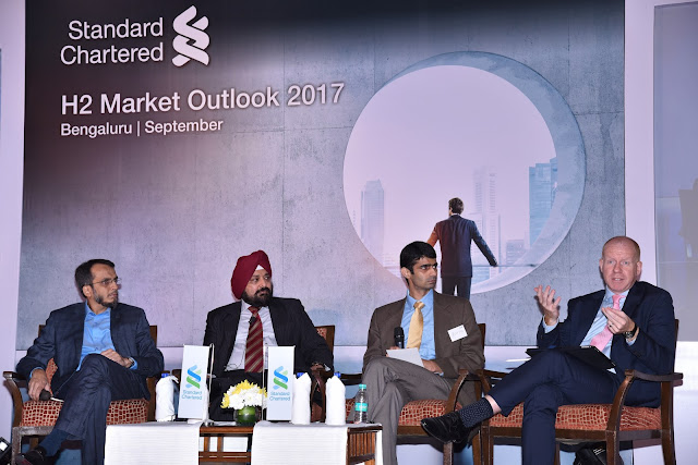 Standard Chartered : H2 Market Outlook 2017' organised by in Bengaluru