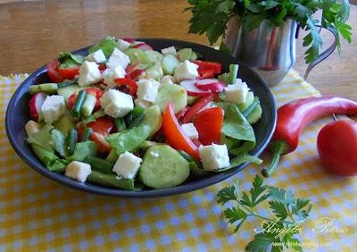 Preparare salata de cruditati-etapa 2