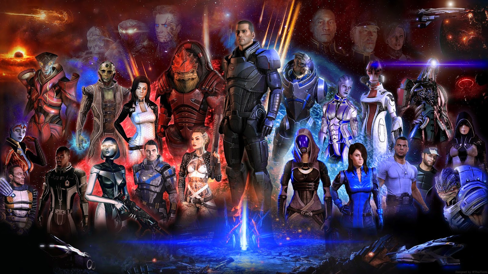 Mass Effect 3 PC Game Highly Compressed