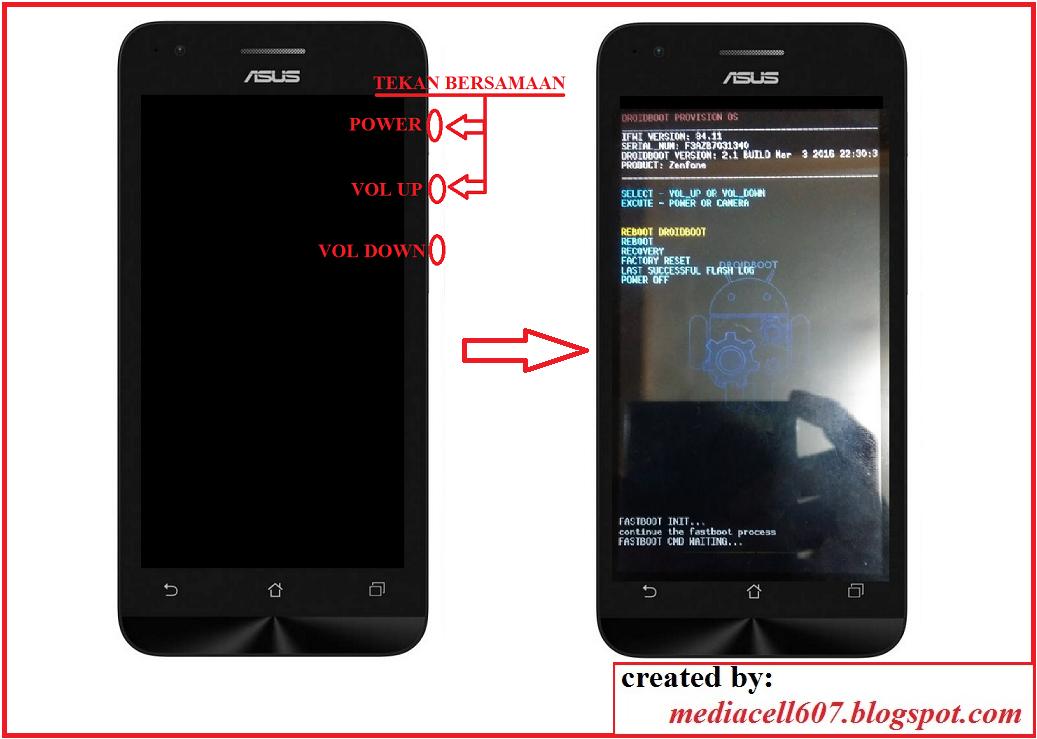 Flash Asus Zenfone C Menggunakan Asus Flash Tool