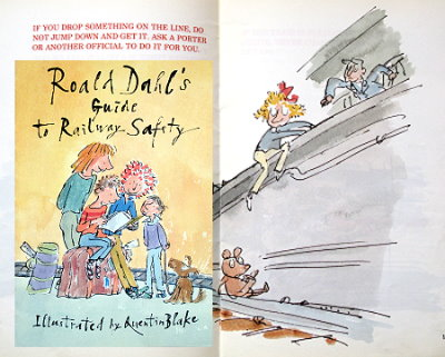 Roald Dahl's Guide to Railway Safety Children's books