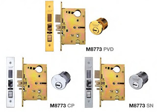 Mortise lock case