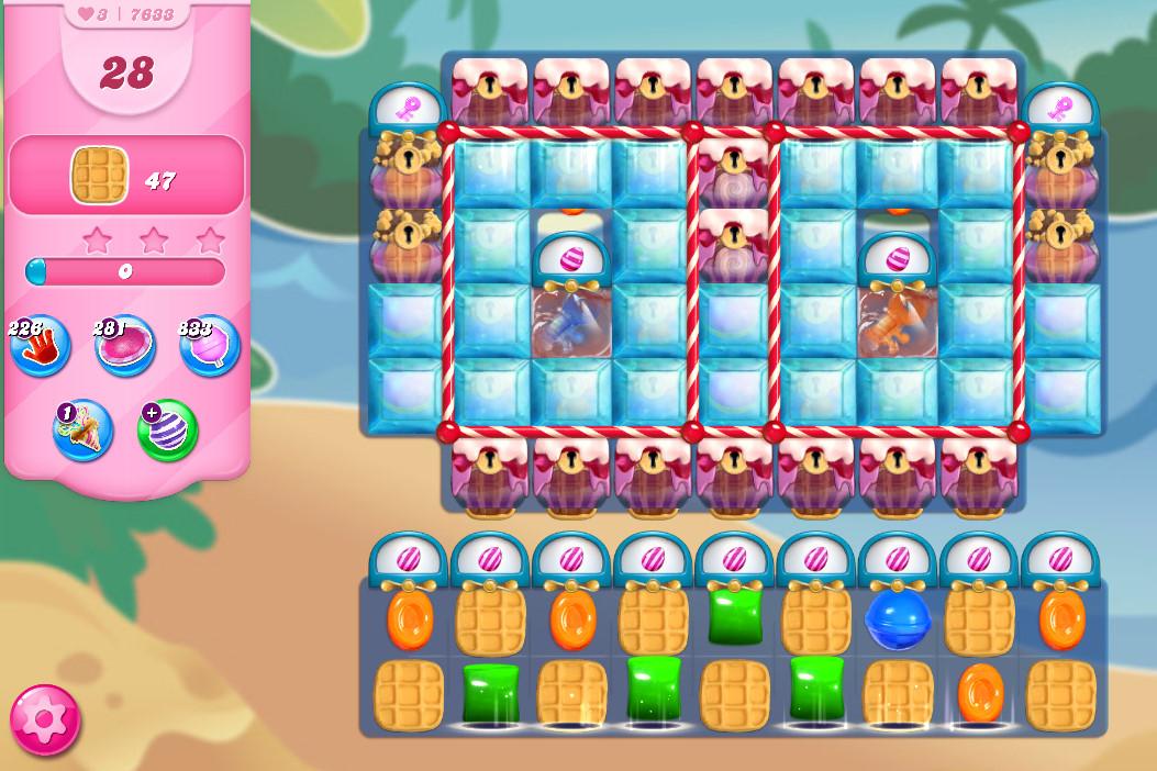 Candy Crush Saga level 7633