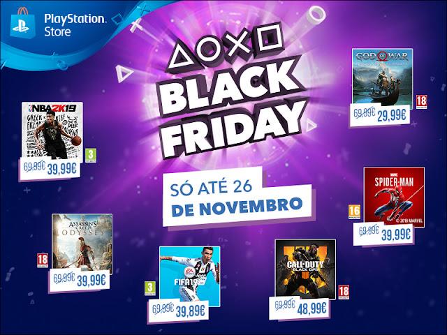 PlayStation® adianta-se à Black Friday