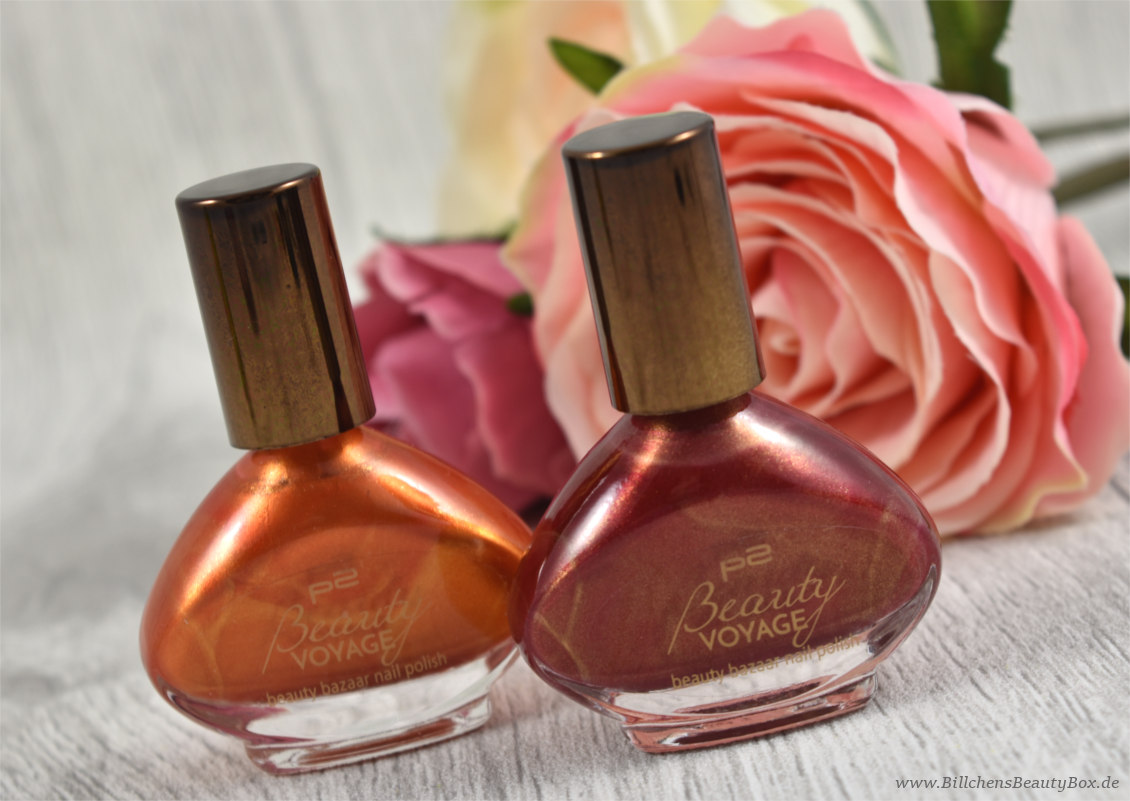 p2 cosmetics - Beauty VOYAGE Limited Edition - beauty bazaar nail polish - safran touch - spicy cayenne