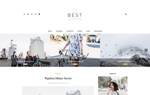 Clean in addition to responsive blogger template is an elegant in addition to modern spider web log for all types of life Free Download Best Clean Blogger Template