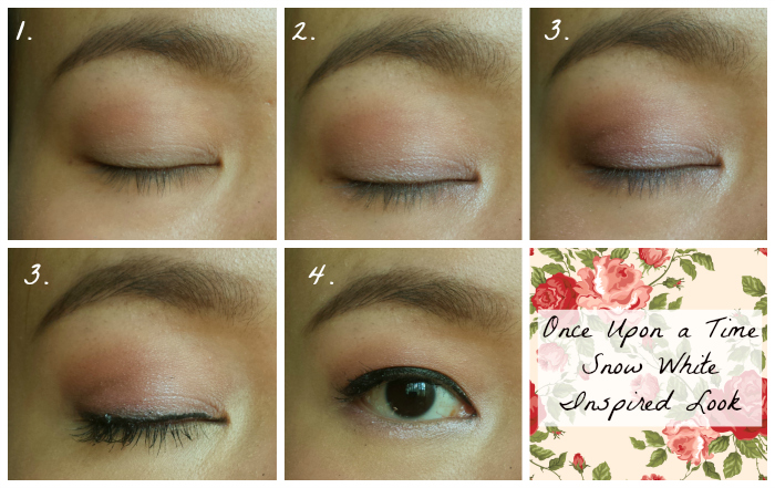 once upon a time snow white inspired makeup look, march blogger boot camp day 15, makeupwithaheart, spring makeup look