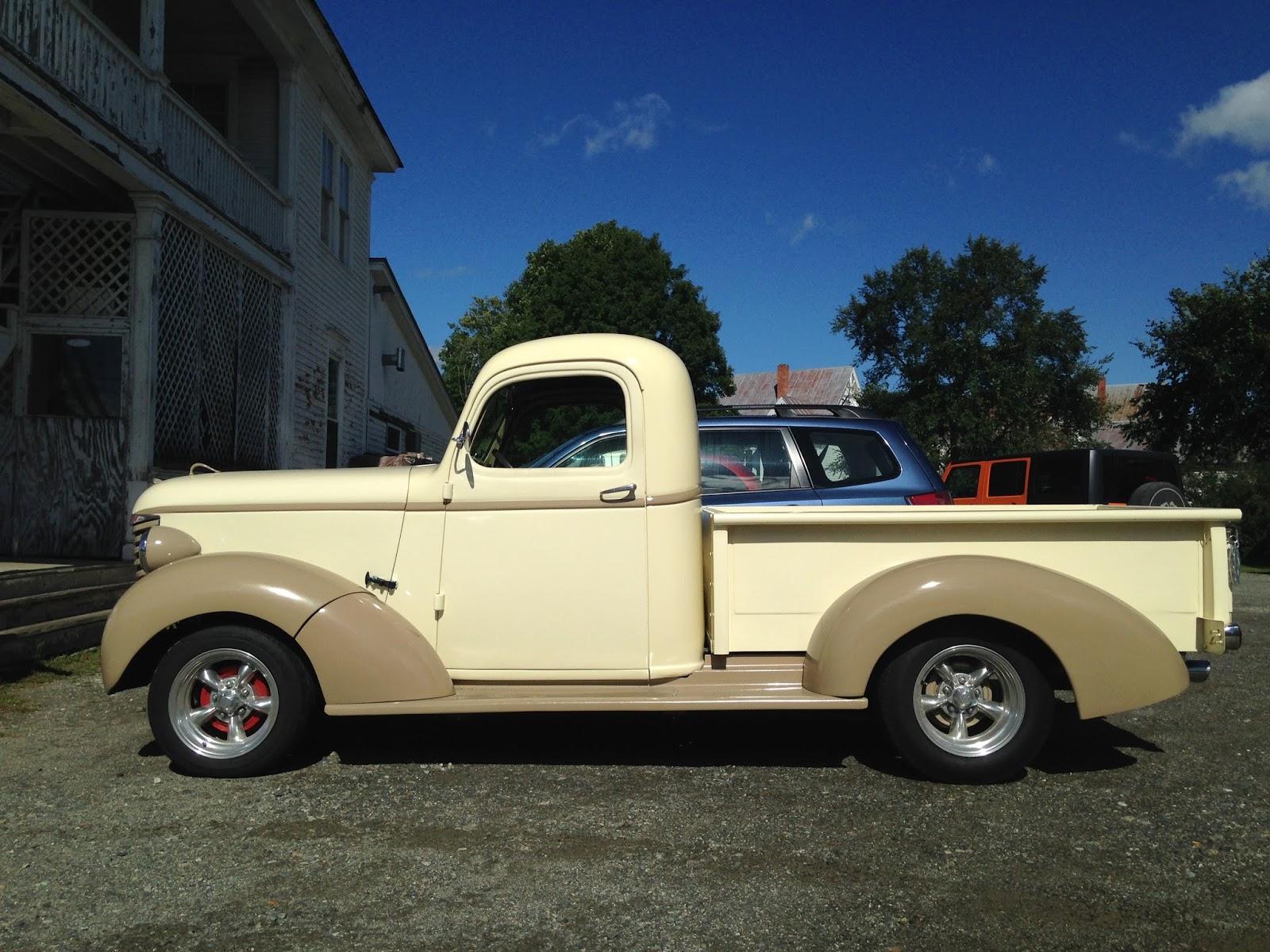 autoliterate 1939 Chevrolet pickup The Solon Hotel Solon Maine