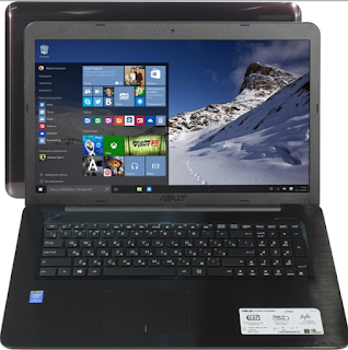 "ASUS X756UA 17.3"" Notebook (Intel Core i5-6200U) Drivers Download For Windows 10"