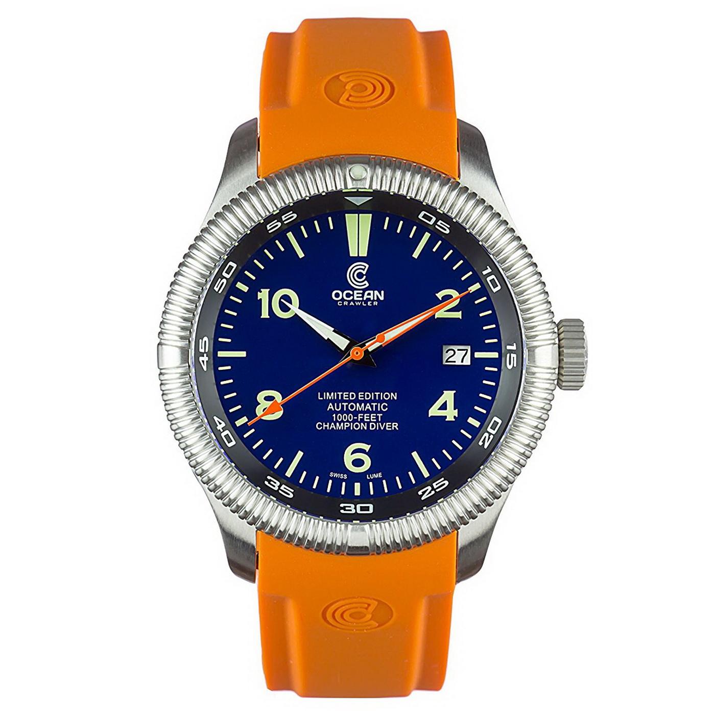Oceanictime ocean crawler champion diver borealis - Oceanic dive watch ...