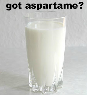 U.S. dairy industry petitions FDA to approve aspartame as hidden, unlabeled additive in milk, yogurt, eggnog and cream