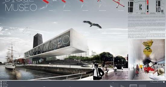 Tips mendesain panel presentasi desain arsitektur  1000