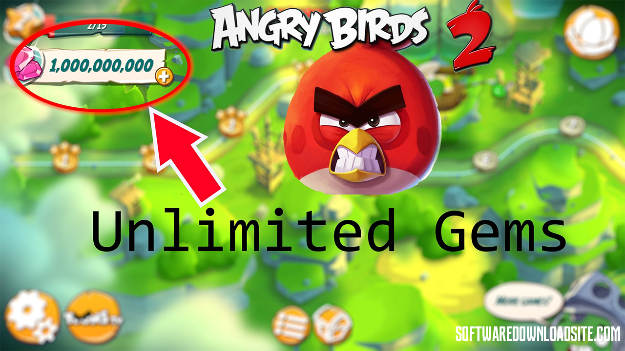 Angry Birds 2 Unlimited Gems APK