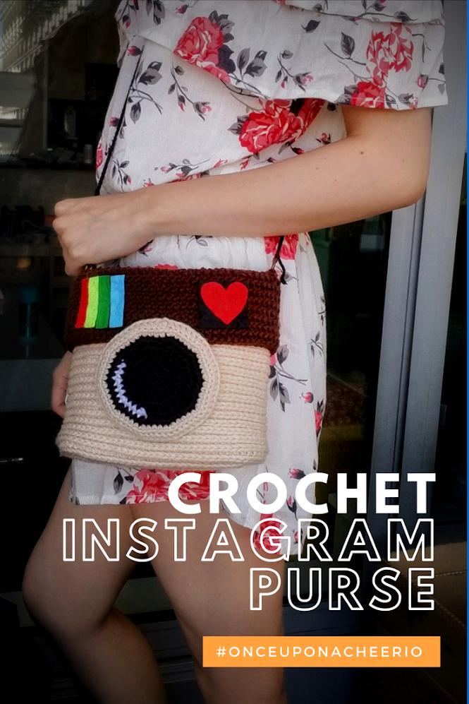 Instagram Purse Free Crochet Pattern