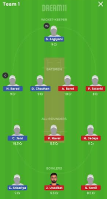 SL vs KW dream 11 team
