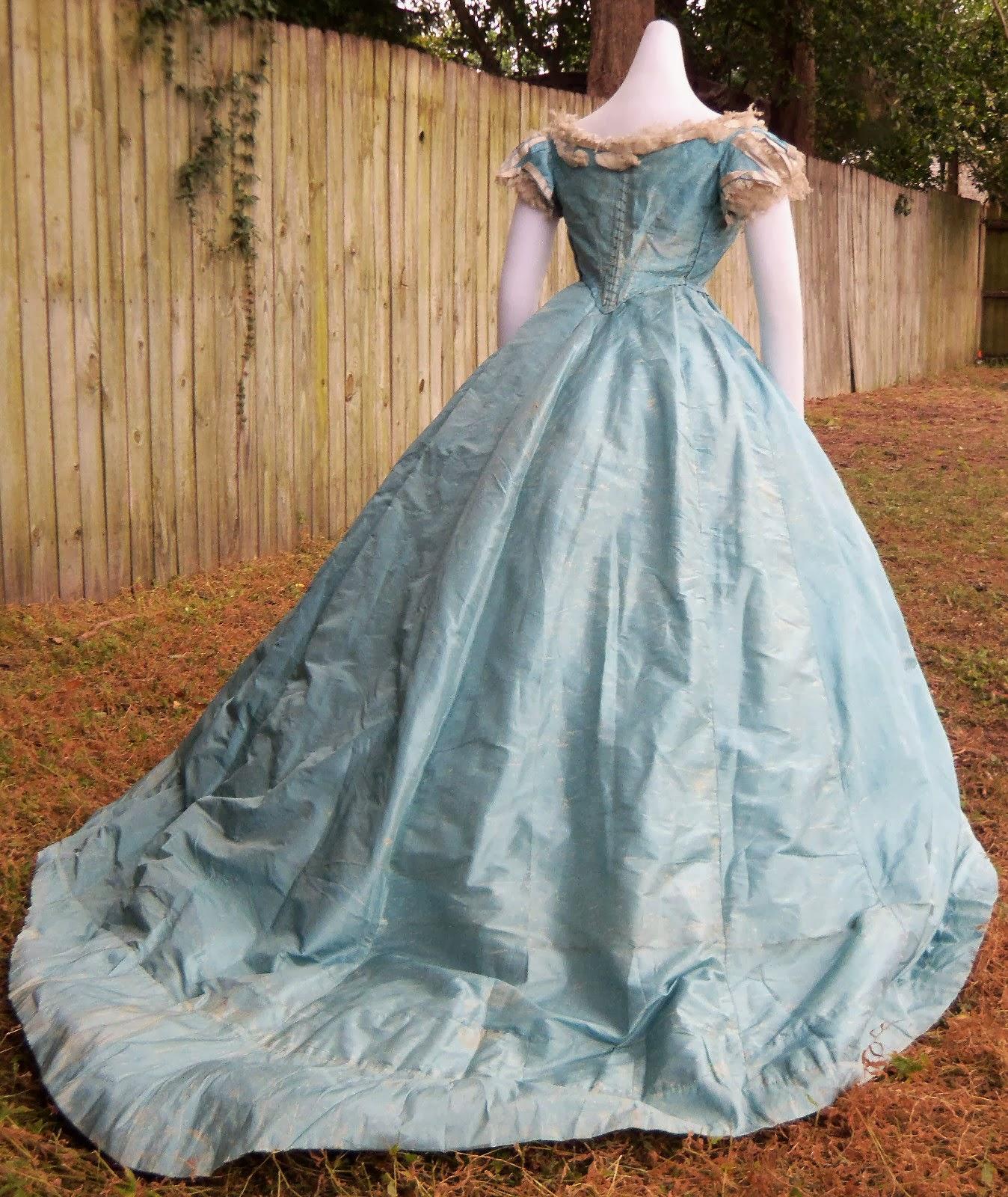 Civil War Ball Gown 71