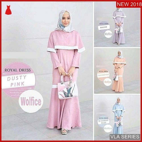 VLA204R85 Model Dress Royal Bl Murah BMGShop