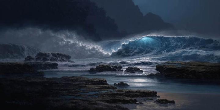 Roy Tabora. Морские пейзажи 3
