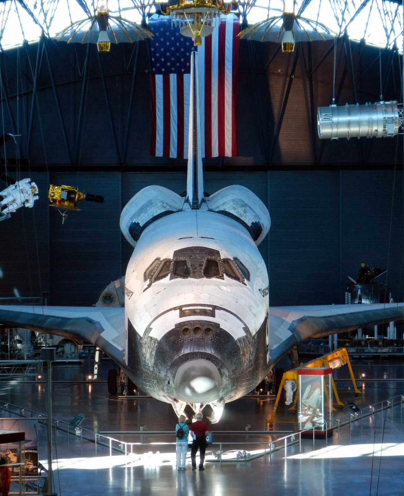 visit space shuttle discovery - photo #11