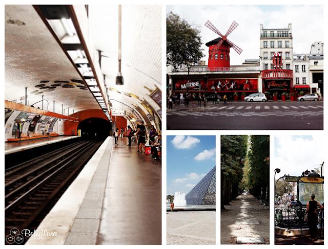 Das Moulin Rouge und die Pariser Metro