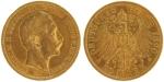 20 Mark, Wilhelm II. Deutscher Kaiser König von Preußen (1888 - 1918), Deutsches Reich 1890