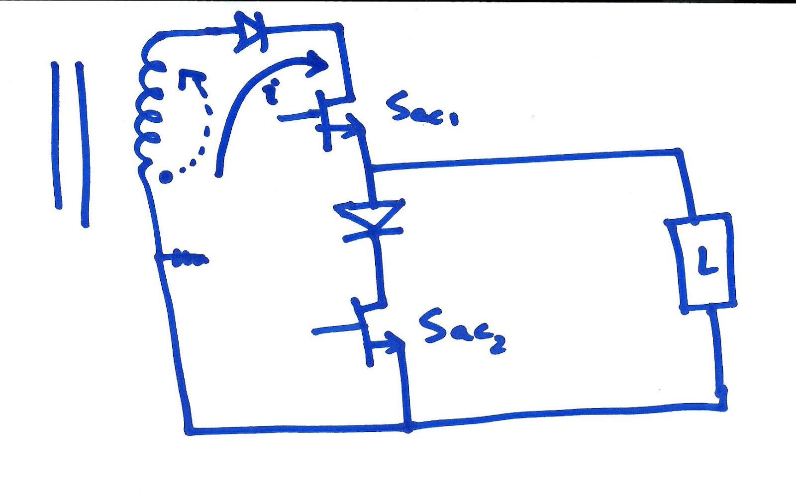 can we consider unfolding stage of flyback inverter as a half bridge rh pveducator blogspot com