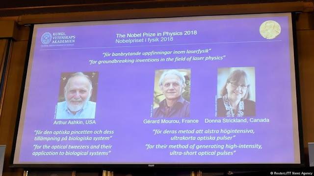 Penerima Nobel Fisika 2018-Laser Dioda Presisi Tinggi
