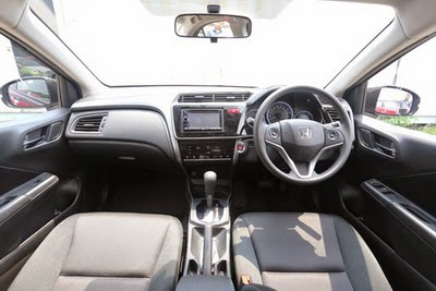 Interior Honda All New City