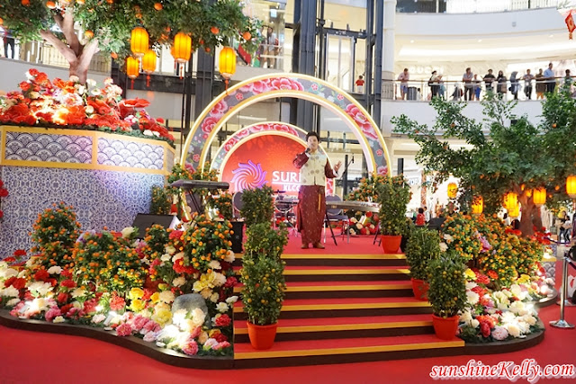 A Blossoming Day, Mandarin Orange Garden, Suria KLCC, Suria KLCC Mall, CNY 2019, Mandarin Orange Tree, 40-feet height Basket of Mandarin oranges replica, Basket of Good Fortune, KLCC Esplanade, Shopping Mall decoration, Malaysia Shopping mall, Lifestyle