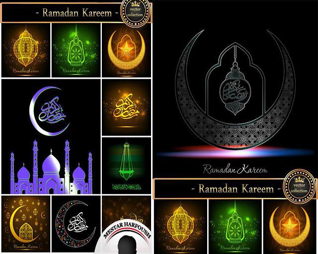 مجموعة الصور والفيكتور الاسلامية الخاصة بشهر رمضان 2015 المجموعة 11