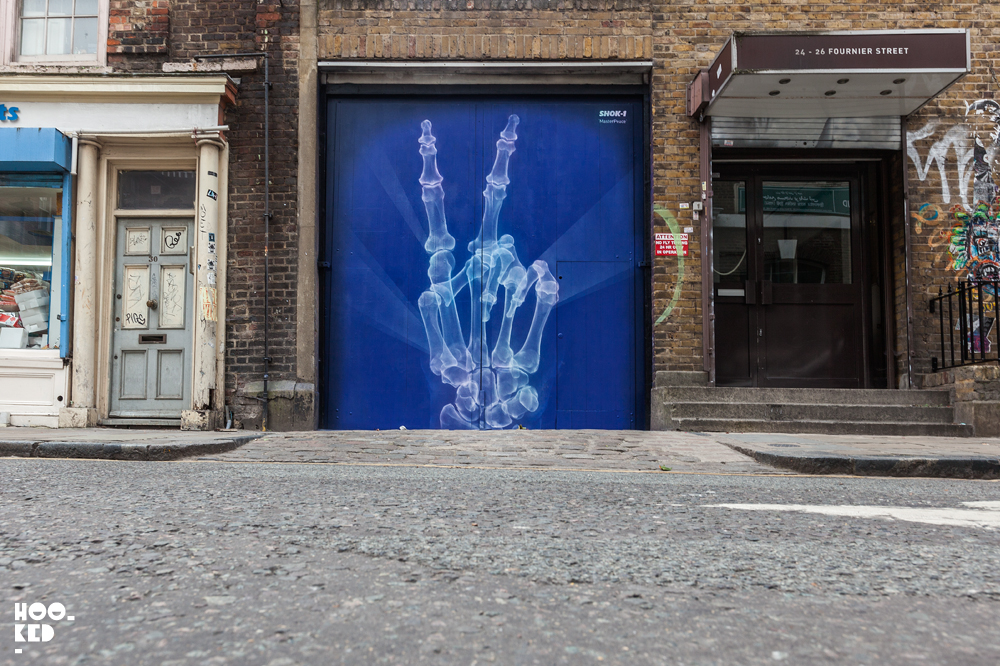 Street Art 'MasterPeace' by Shok-1 in London
