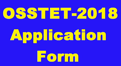 OSSTET-2018 application form