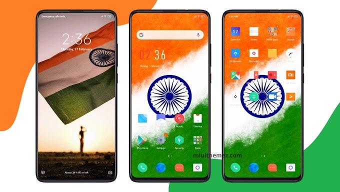 Hindustan MIUI 11 Theme | A Beautiful Indian Nationalism Based Mi Theme