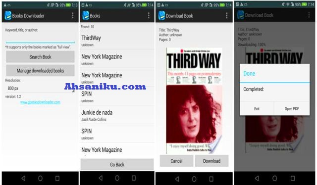 Google Books Downloader Android