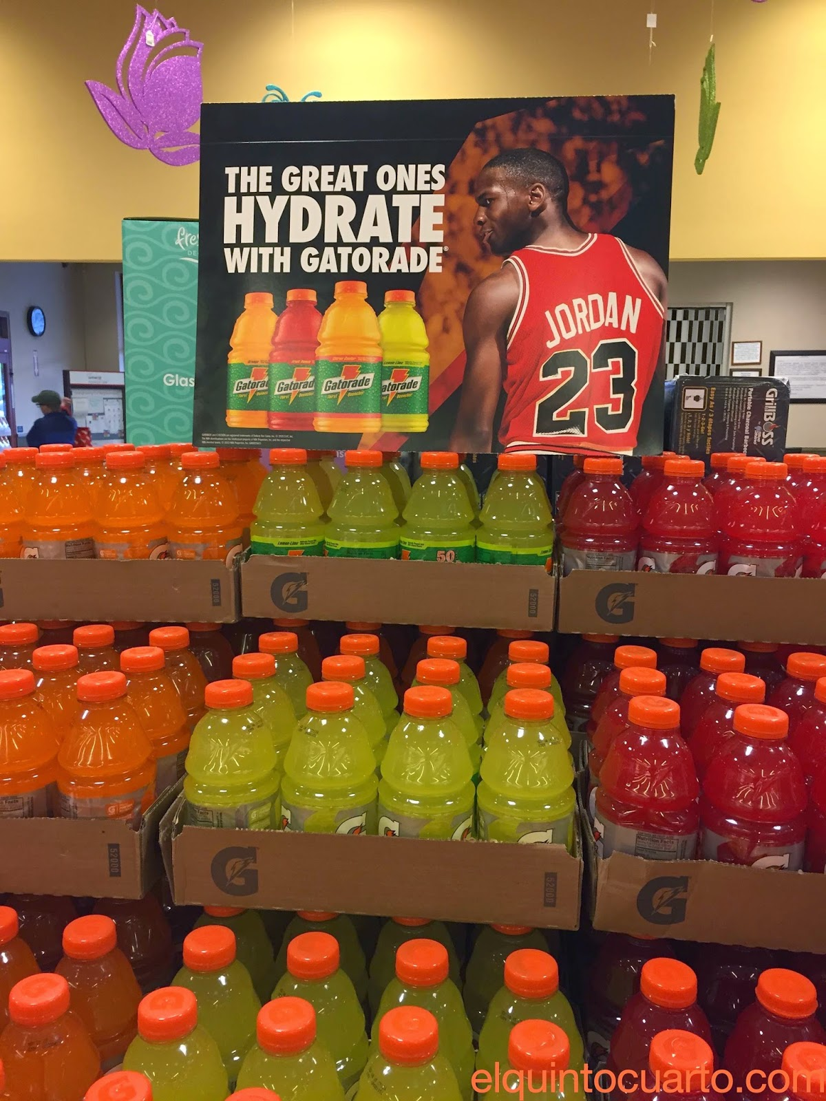 Michael Jordan and Gatorade
