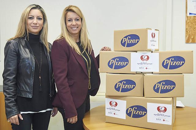 Γιάννενα: Η Pfizer «ΠροΣfΕΕρει» Ελπίδα Και Χαμόγελα Στο Γηροκομείο Ζωσιμάδων Ιωαννίνων