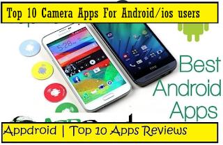top 10 camera apps