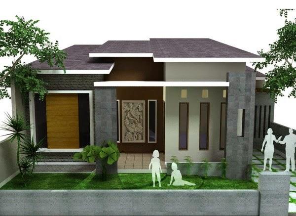 Contoh desain rumah minimalis yang cocok untuk keluarga baru