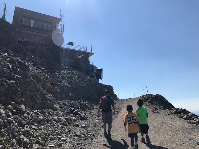Fire Lookout on Mt. Washburn trail
