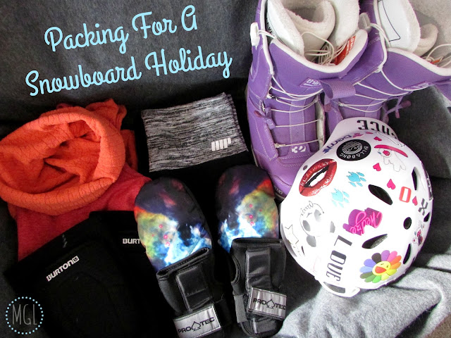 My General Life - Packing For A Snowboard Holiday