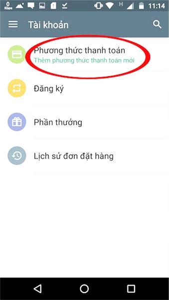 Hướng dẫn thanh toán trên Ch Play bằng thẻ sim VinaPhone d