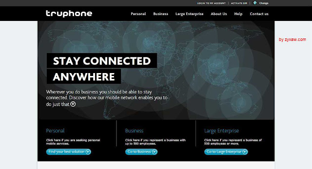 Truphone+ makes intelligent phone calls where there is no GSM signal, it's weak or do not works and improve call quality